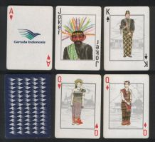 Collectible Air line Advertising playing cards Garuda Airlines 2